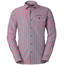 VAUDE Albsteig - T-shirt manches longues Homme - rouge/blanc